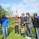 Bootstaufe 15er-Jollenkreuzer der Jugendgruppe