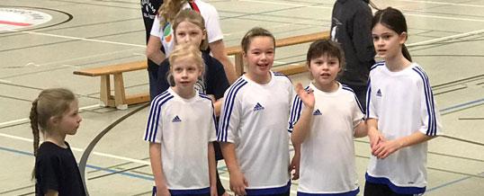Athletikwettkampf im Dorf Mecklenburg