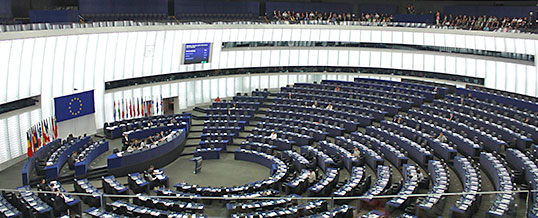 Einladung ins Europäische Parlament