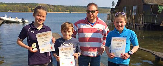 Opti-Kinder erfolgreich in Güstrow