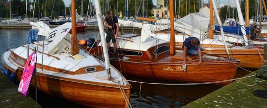 Schweriner Holzboot-Regatta 2017