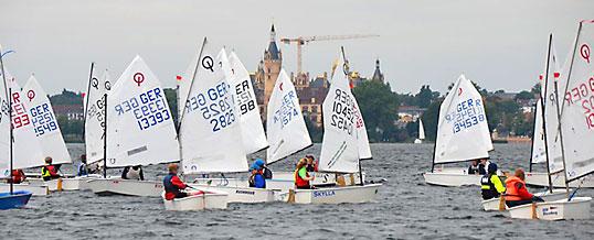 WSV-Optis beim Schweriner Marstall-Cup