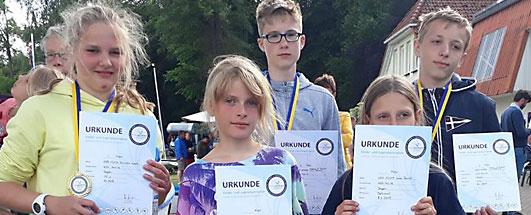 Pfingstregatta Röbel / Jugendsportspiele 2019
