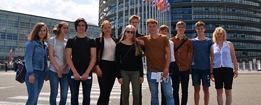 Strasbourg-Reise unserer Jugendgruppe