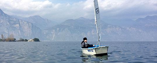 WSV-Segler auf dem Gardasee